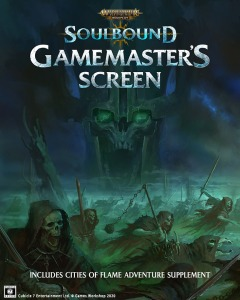 Age of Sigmar Soulbound Gamemaster's Screen